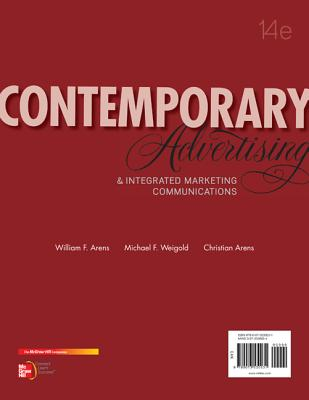 Contemporary Advertising By Arens, William/ Weigold, Michael/ Arens, Christian